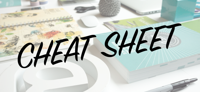 Design Cheat Sheet