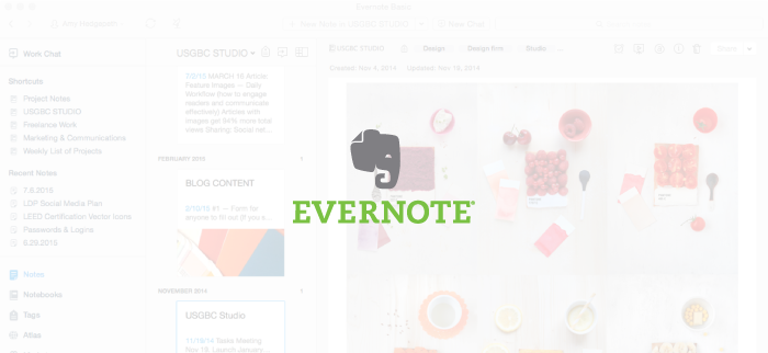 Tools to Enhance Productivity Series: Evernote