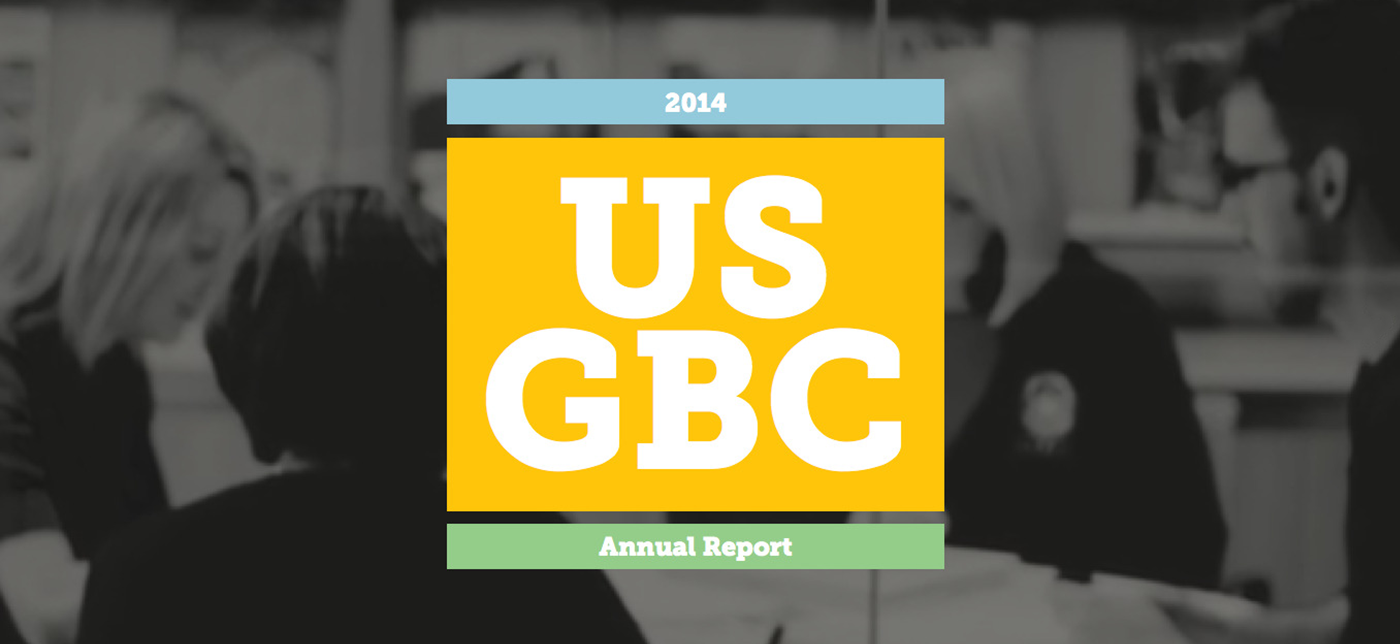 USGBC Studio: Annual Report 2014