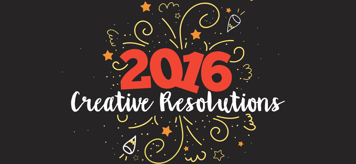 New Year's resolutions from design and communications