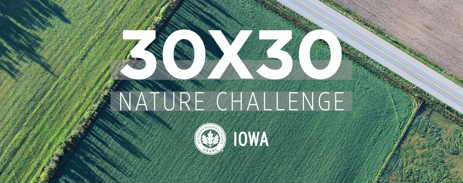 30x30 Nature Challenge Iowa feature image