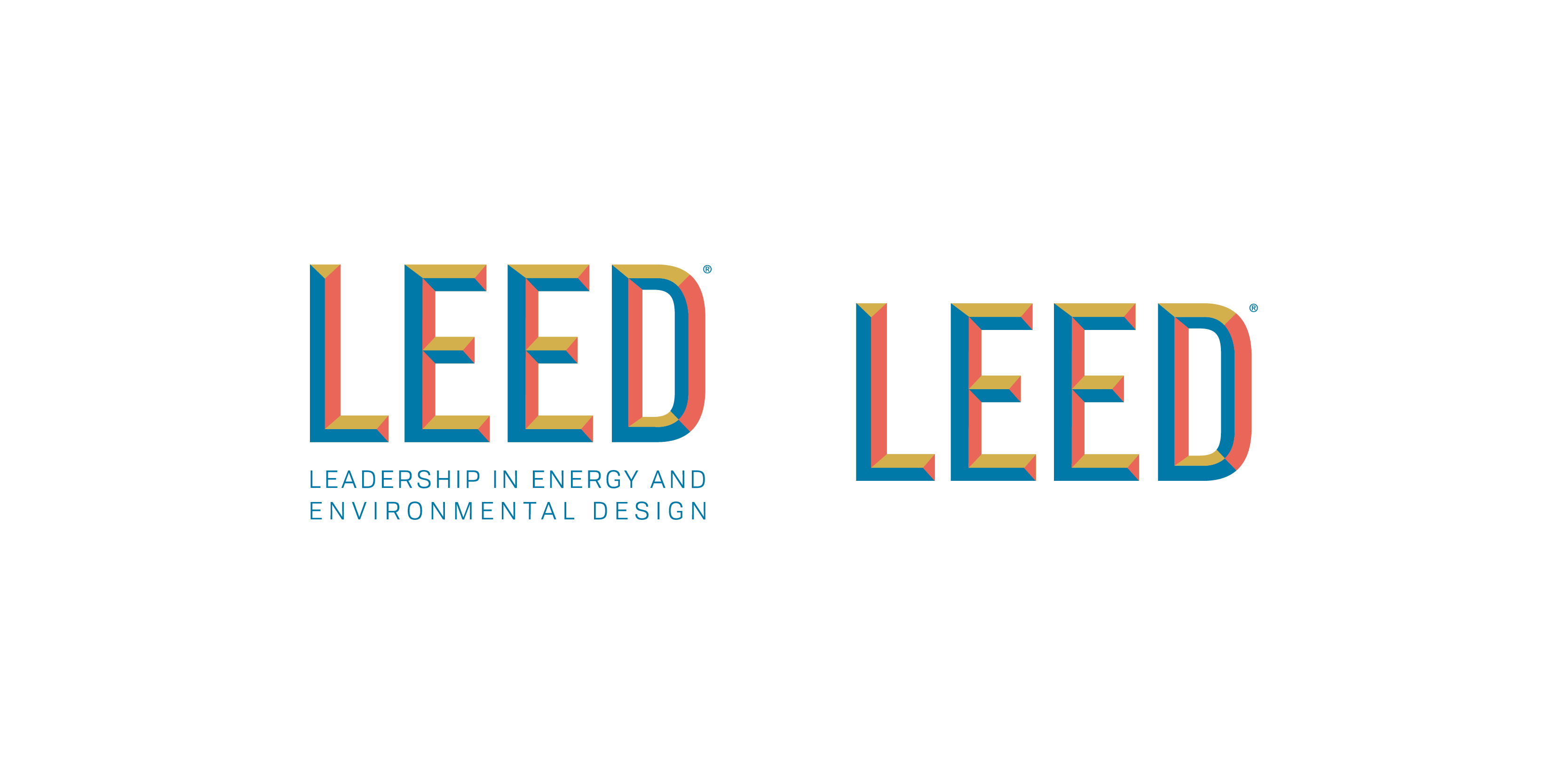 Developing the secondary LEED wordmark at USGBC