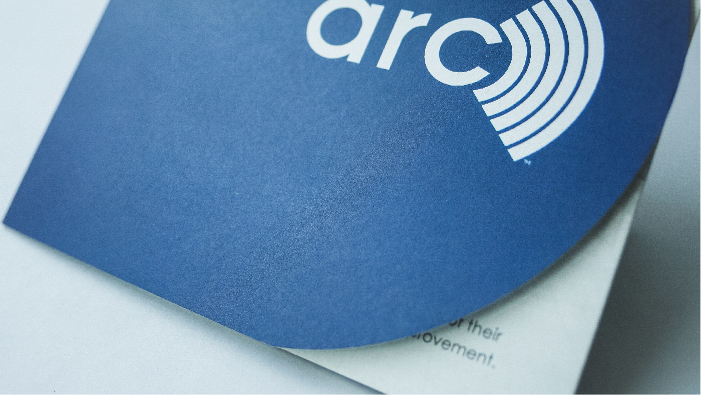 Arc brochure close-up cover