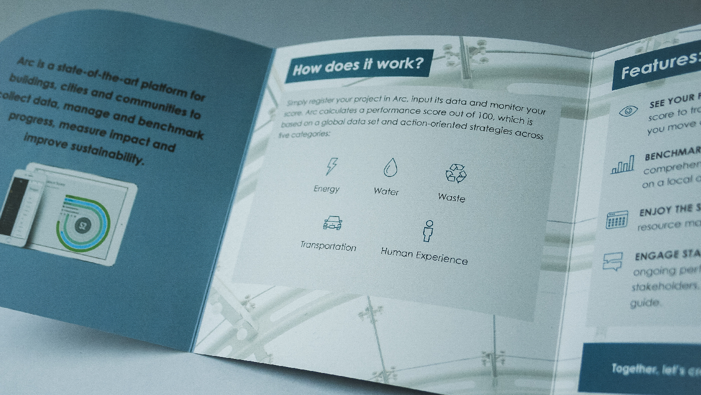 Arc brochure interior