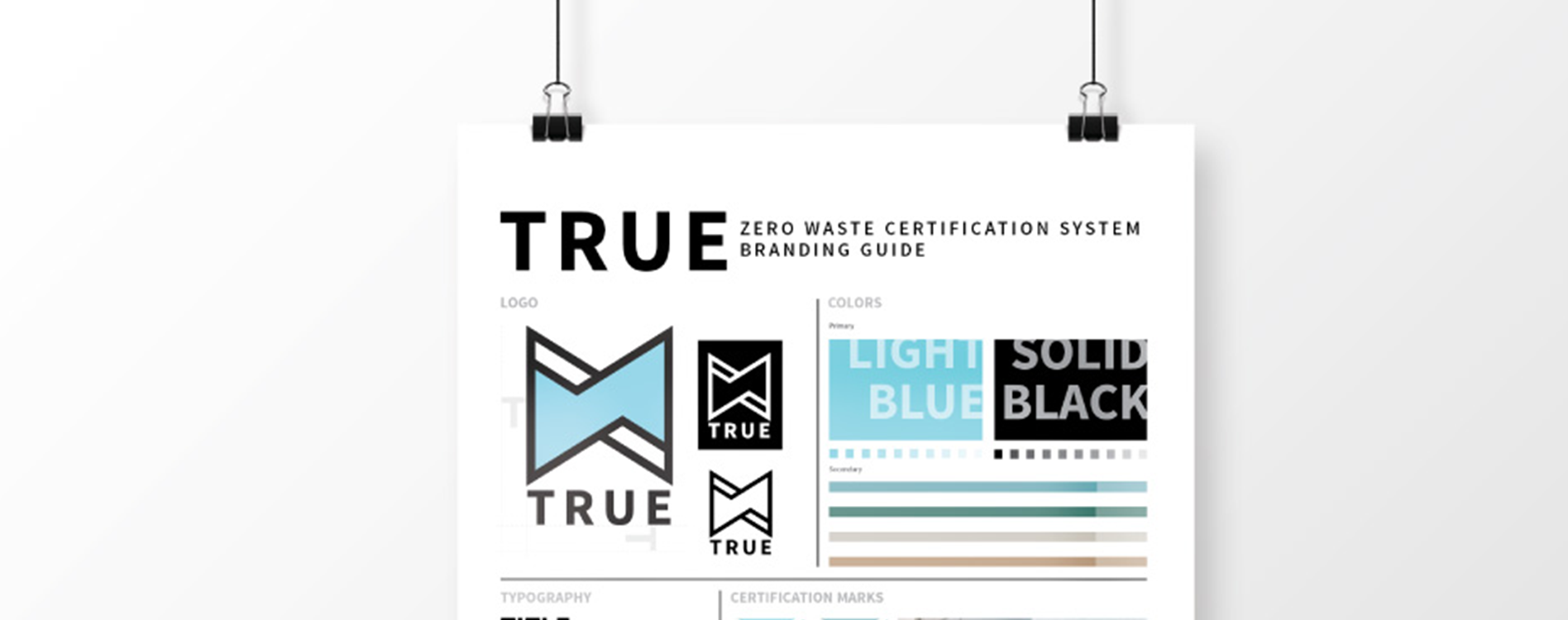 Creating the TRUE Zero Waste brand identity