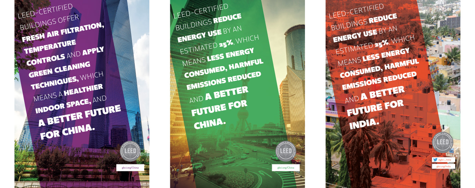 Designing LEED print ads for international audiences