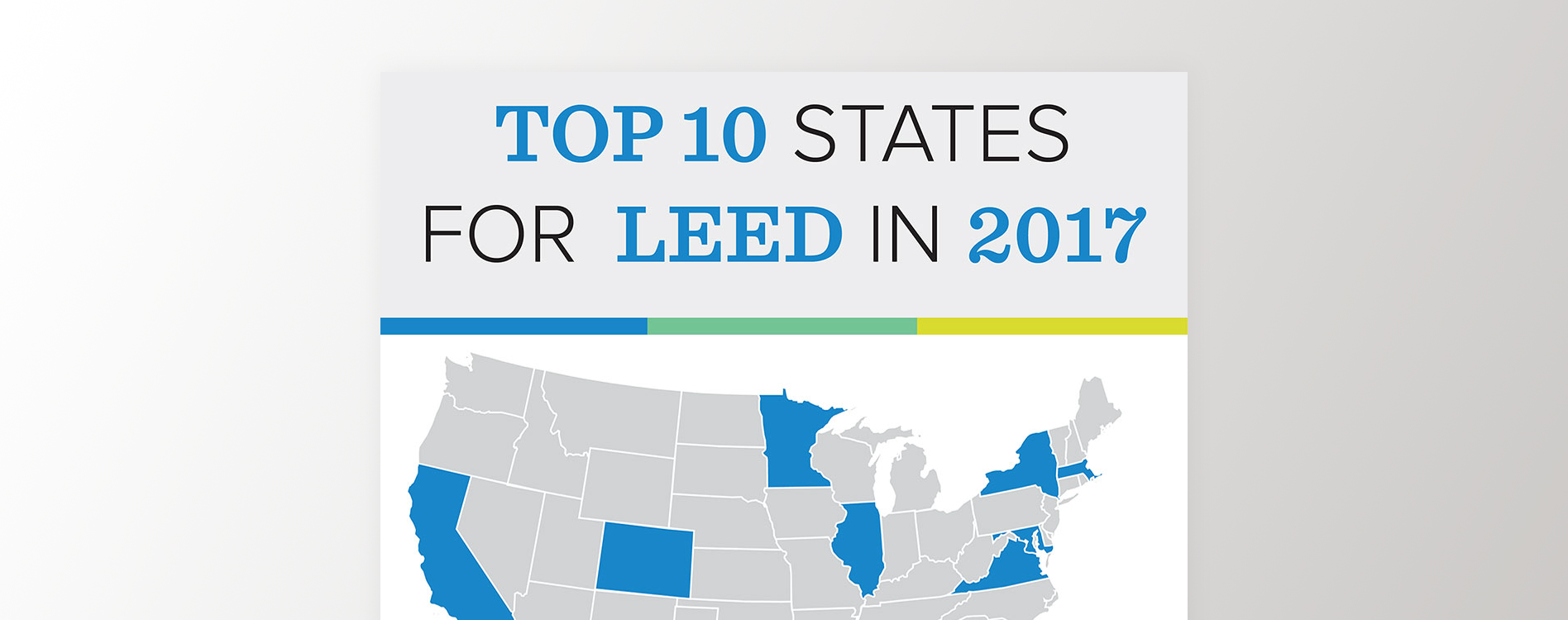 Sharing the story of the Top 10 States for LEED