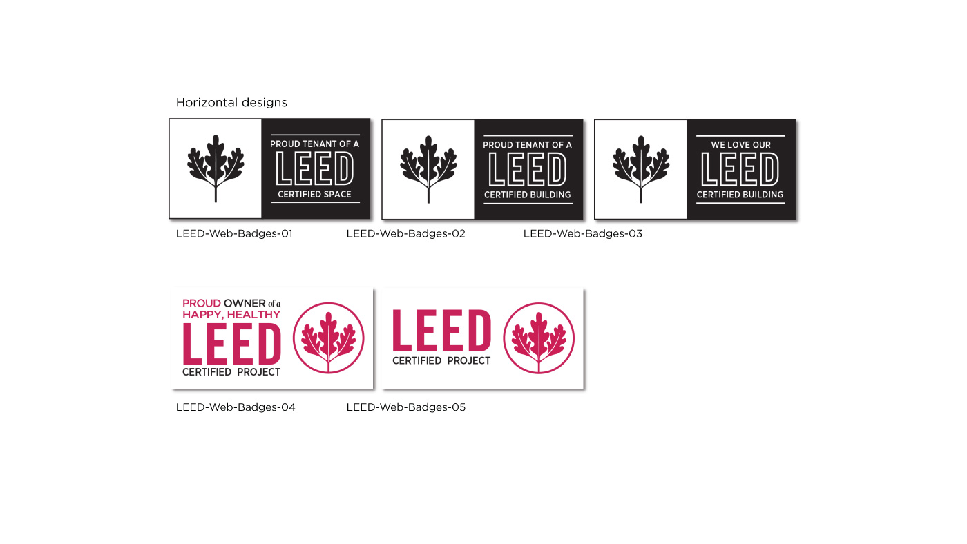 LEED digital badges