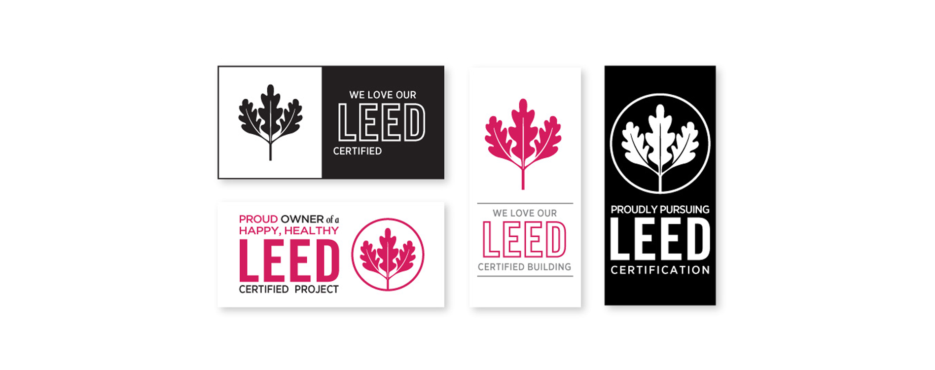 Brand recognition with LEED digital badges