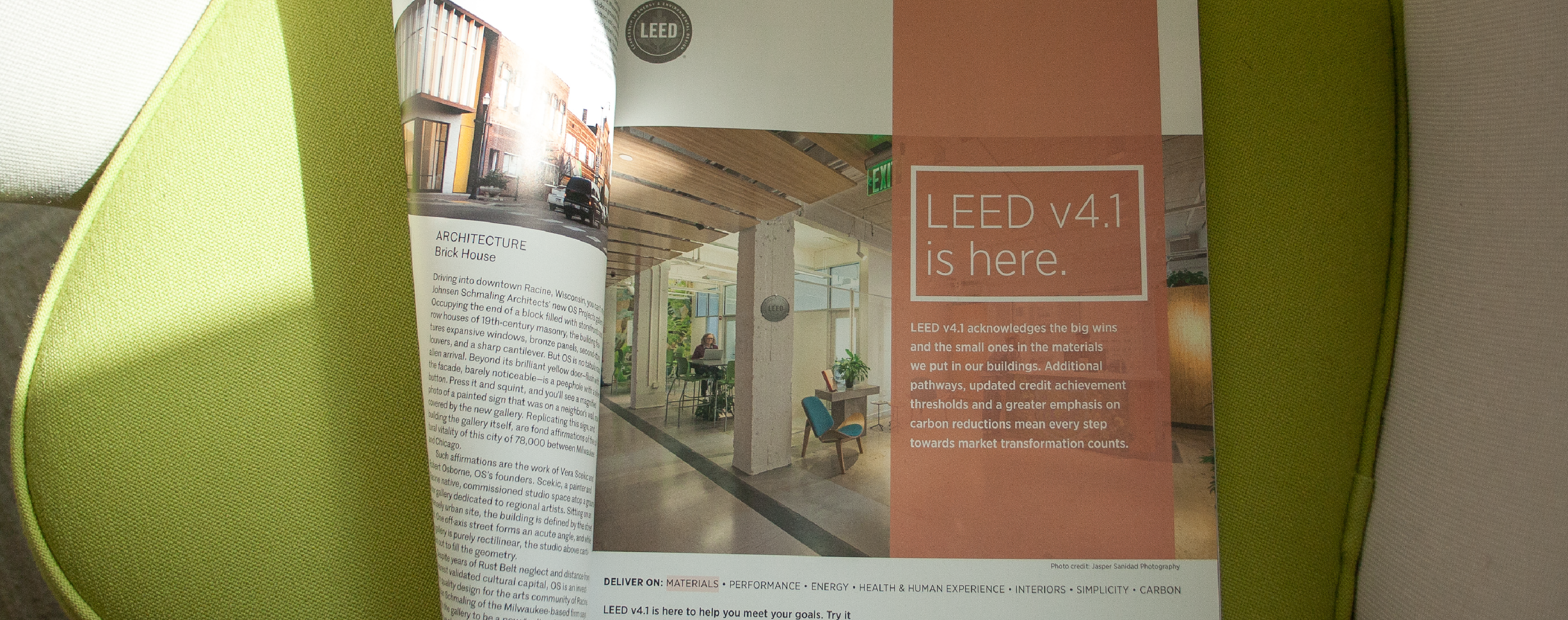 USGBC's new LEED v4.1 advertising campaign