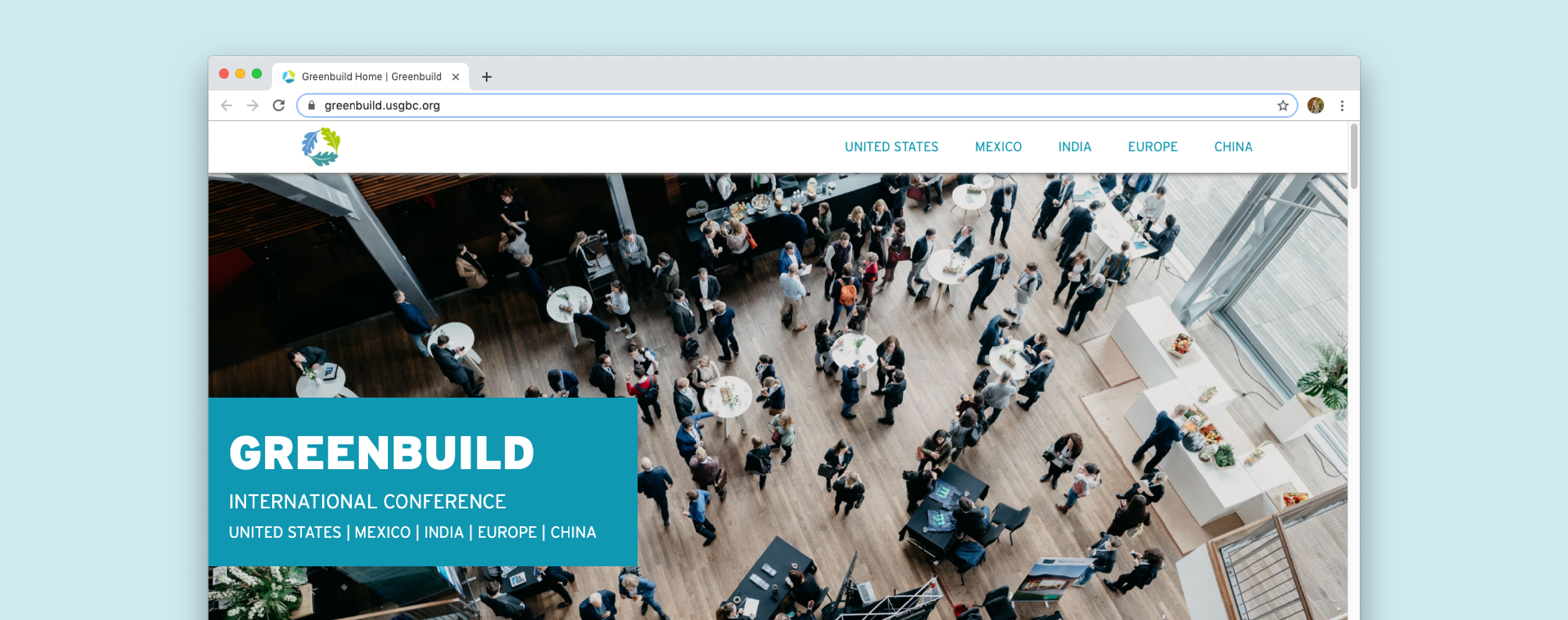 Case study: Redesigning the Greenbuild international website