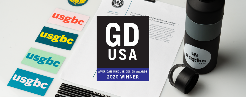 USGBC brand refresh wins award